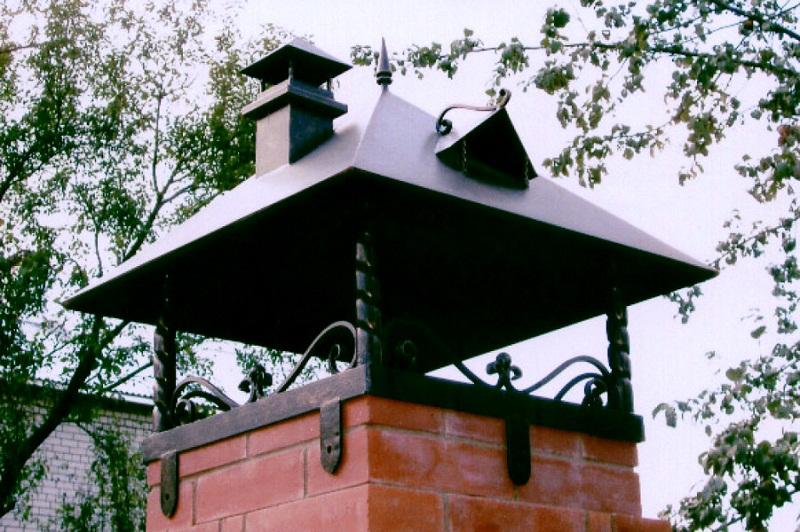 Зонт для дымохода своими руками фото 51